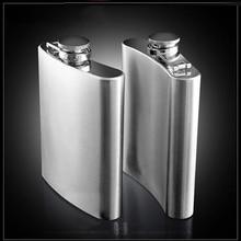 Stainless Steel Hip Flask   Flagon High Quality Portable Wine Whisky  Pot Bottle Drinkware For Drinker