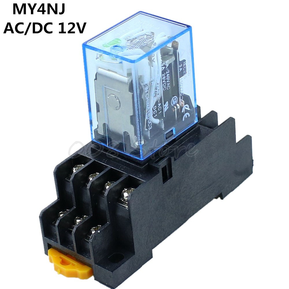 ESUPPORT 3 X Heavy Duty Car Boat DC 12V 80A Relay Switch Wire Socket Plug Harness 4Pin SPST Copper 9.5mm Terminal