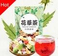 Натуральный Китайский фруктовый чай цветок фруктовый чай зеленый питание задержка старости чай ароматизированный похудеть Повышают иммунитет смесь чая