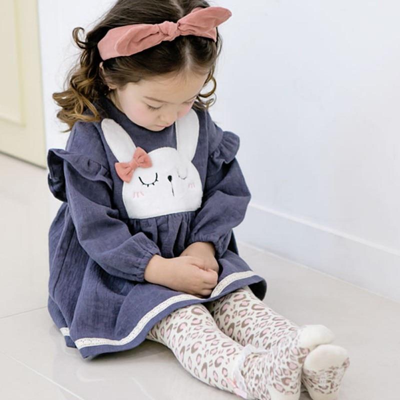 2PCs Baby Boys Girls Spring Cute Cartoon Long Sleeve Leggings Warmer Cotton PP Pants Trousers+Socks Fit to 0-6Y