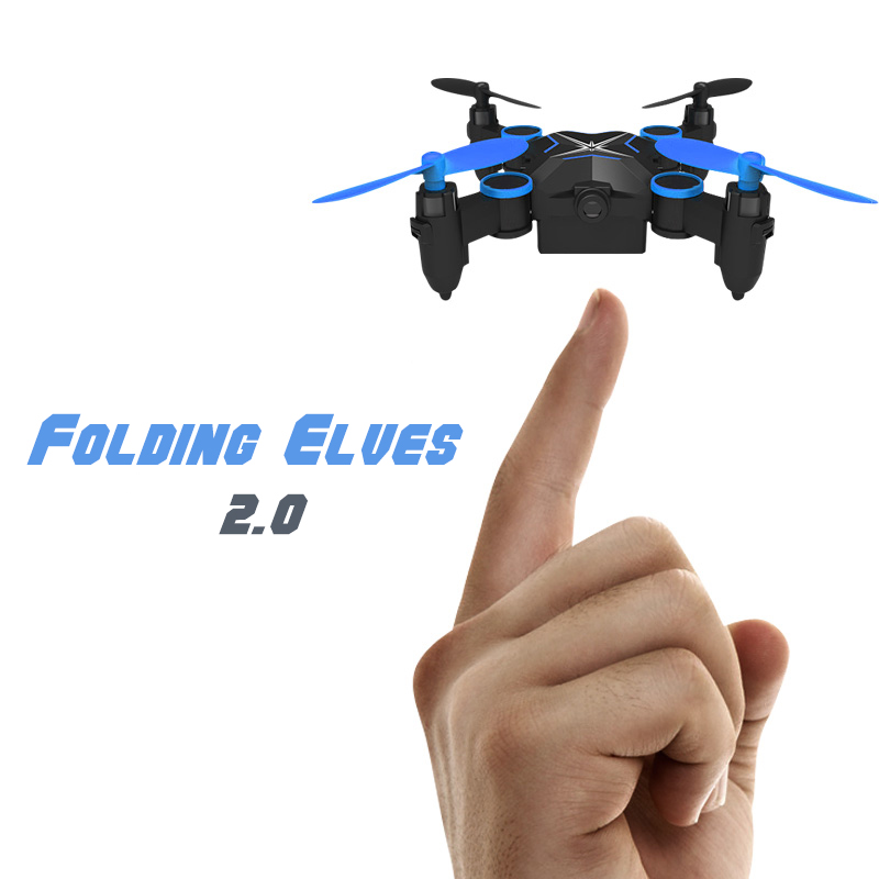 Mini RC Drone Quadrocopter with 2.4G 720P FPV Wifi Camera 901HS Remote Control Helicopter Foldable Drone