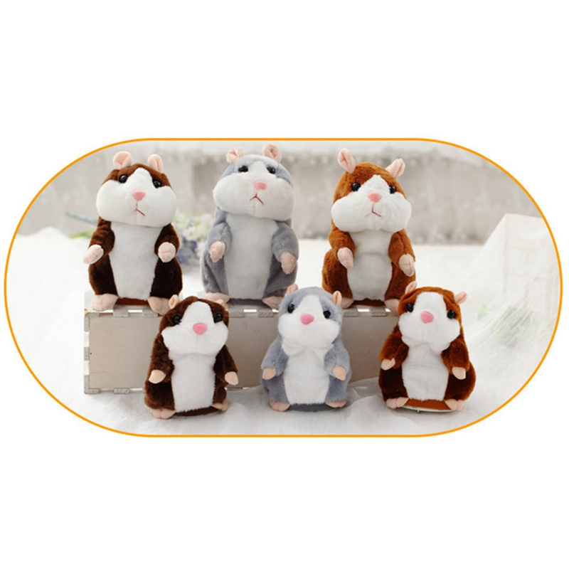 1 Pc Förderung Schöne Elektrische Hamster Gefüllte Plüsch Tier Kawaii Hamster Spielzeug Für Kinder Neue Geschenk Den Menschen In Ihrem TäGlichen Leben Mehr Komfort Bringen