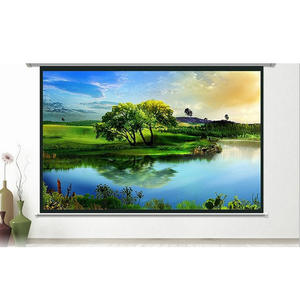 72/84/100/120 inch Soft Screen Curtain Projection HD Screen Canvas Matt 3D