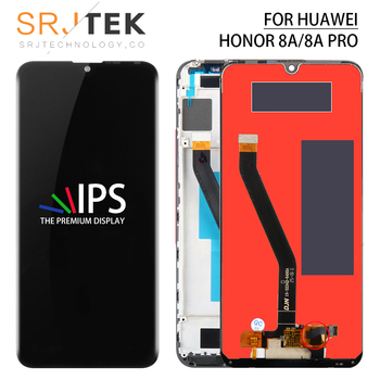 Srjtek For Huawei Honor Glory 8A LCD Touch For Honor Play 8A Display Screen Glass Panel For Honor 8A/8A Pro Display Sensor Frame фото