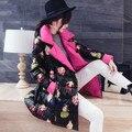 plus size 2016 Korean long sleeve warm down padded winter jacket women parkas for women winter coat