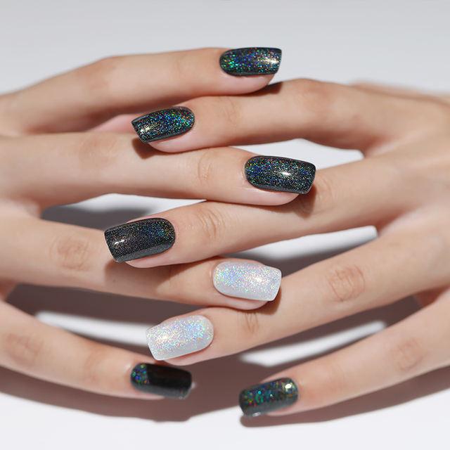 LILYCUTE 5ml Holographic Glitter Nail Gel Polish
