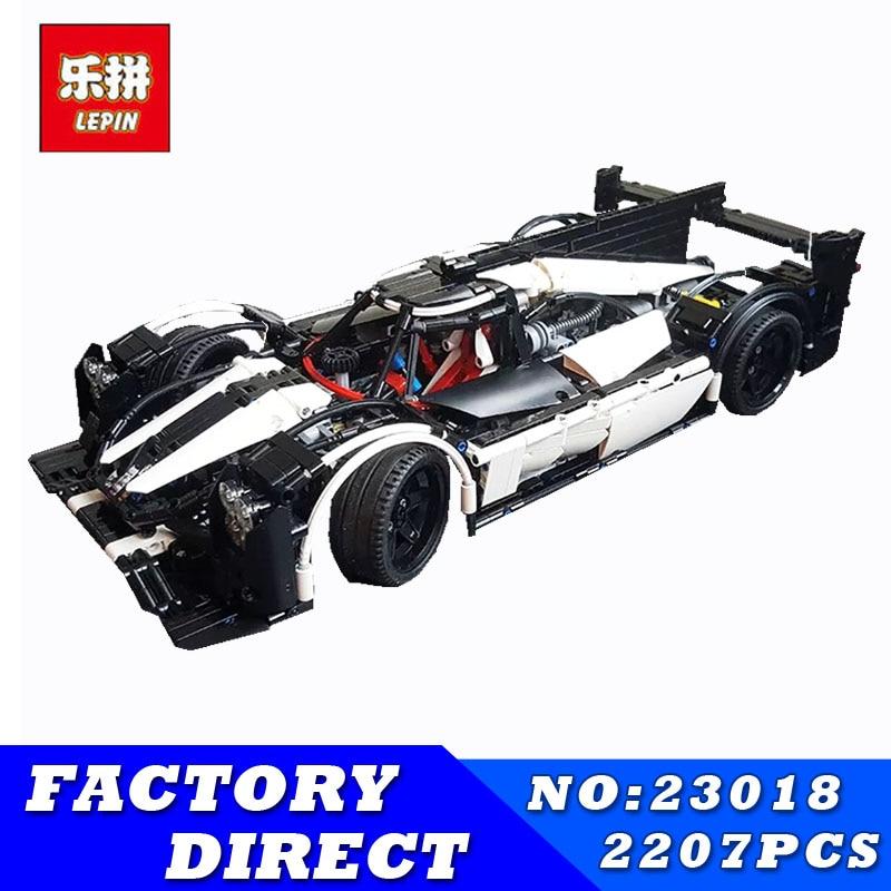 Lepin 23018 Technic Toys The MOC-5530 Hybrid Super Racing Car Set Building Blocks Bricks Car Model Kids Toys Christmas Gifts цена 2017