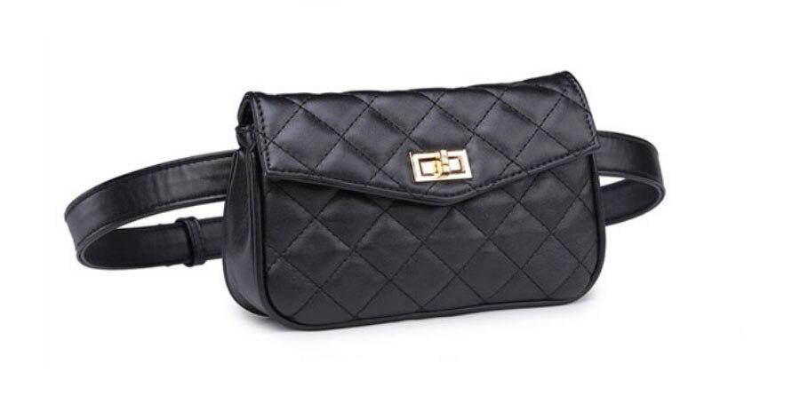 Fashion Women Waist Bag Fanny Pack Beltväska Travel Pouch Kvinna - Bälten väskor