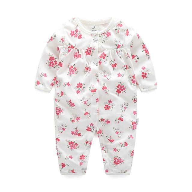 Orangemom 2017 new children s underwear flower baby girls clothing 6-24M  Toddler infant girl coats baby rompers for bebes girls 1e8cddfd0