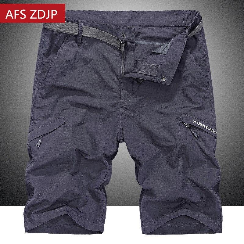 AFS ZDJP Plus Size Loose M-4XL Quick-drying Waterproof Summer Casual Shorts Men Male Shorts Bermuda Beach Shorts For Men