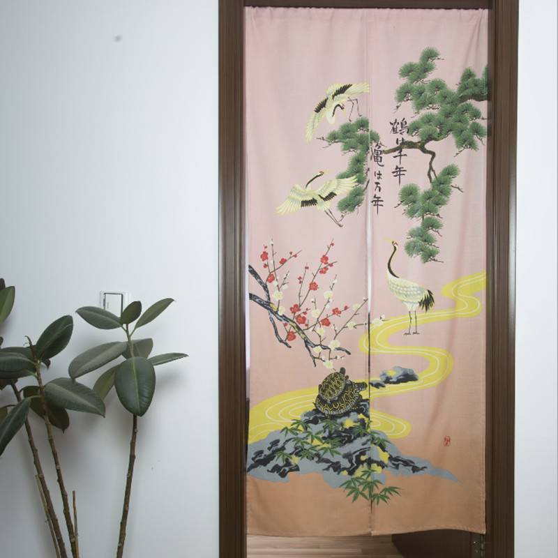 Animal Printted Hot Sale Partition Fashion Scenery Curtain