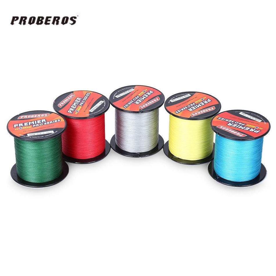 PRO BEROS 300M PE Multifilament Braided Fishing Line 6LB - 80LB Super Strong Fishing Line Rope 4 Strands Carp Fishing Rope Cord kastking multicolor braid line super strong carp colorful braided fishing line 1000m 10 80lb pe multifilament 4 strands