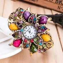 Ladies Elegant Gold Dress Montre Wristwatch Women watches Brand Fashion watch Hot Sale Luxury Bracelet Watch