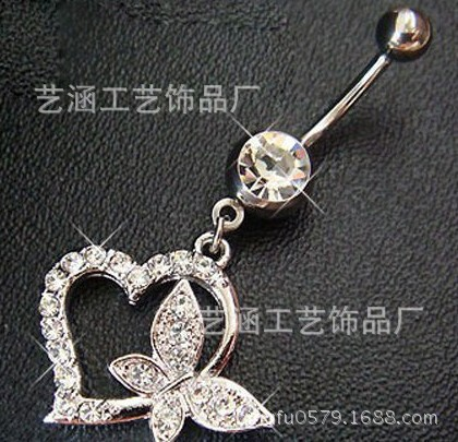 Japan And South Korea Jewelry Sexy Navel Navel Ring Navel Ring