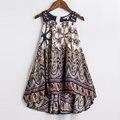 Baby Girls Vestido de Verano 2016 Nuevos Niños de la Marca de Impresión Vestido de Fiesta para Niñas Niños Ropa de Moda Bohemia