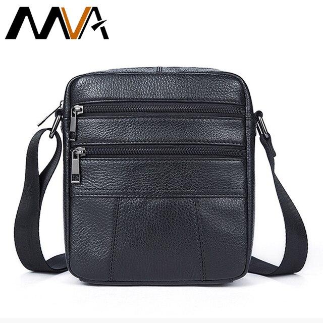 80f7ca0568b2 MVA Мужские сумки через плечо из брендовой натуральной кожи Для мужчин сумка  Для мужчин мужская сумка