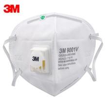 10Pcs 3M 9001V KN90 Vent Anti-dust Masks Anti PM2.5 Industrial Construction Dust Pollen Haze Gas Family&Pro Site Protection Tool