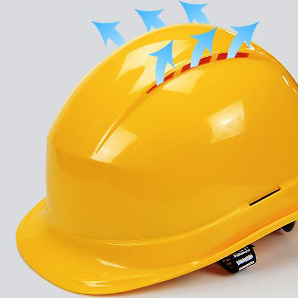 White Yellow Safety Hard Hats Breathable Construction Work Protective  Helmets ABS Insulation Material Protect Rescue Helmets-in Safety Helmet  from Security ... 8bead6f1604