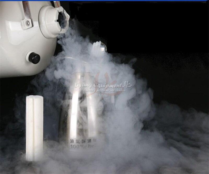 Купить с кэшбэком 2L liquid nitrogen kettle cold resistant for minus 196 degree for repairing mobile phone