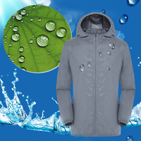 Men Women USB Three Gear Breathable Zipper Jacket Air Conditioning Coat Hiking Summer Sports With Cooling Fan Sun Protection
