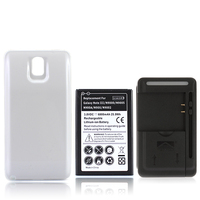 For Samsung Galaxy Note 3 N9000 N9005 6800mAh Extended Repalcement Mobile Cell Phone Battery Back Cover