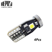 10pcs T10 3 SMD 3030 LED Auto Clearance Lights W5W 194 168 192 3SMD LED Car Door Light Reading Lamps Dome Bulbs Canbus No Error aslent 4pcs t10 w5w 194 led 3030smd car light bulbs auto lamp car door light turn reading lights ice blue white red yellow 12v