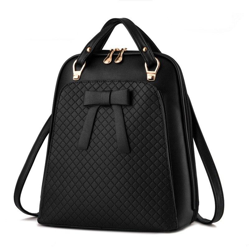 Women Backpack mochila feminine kanken backpack Geometric Plaid Sequin Female Backpacks For Teenage Girls Bagpack Drawstring