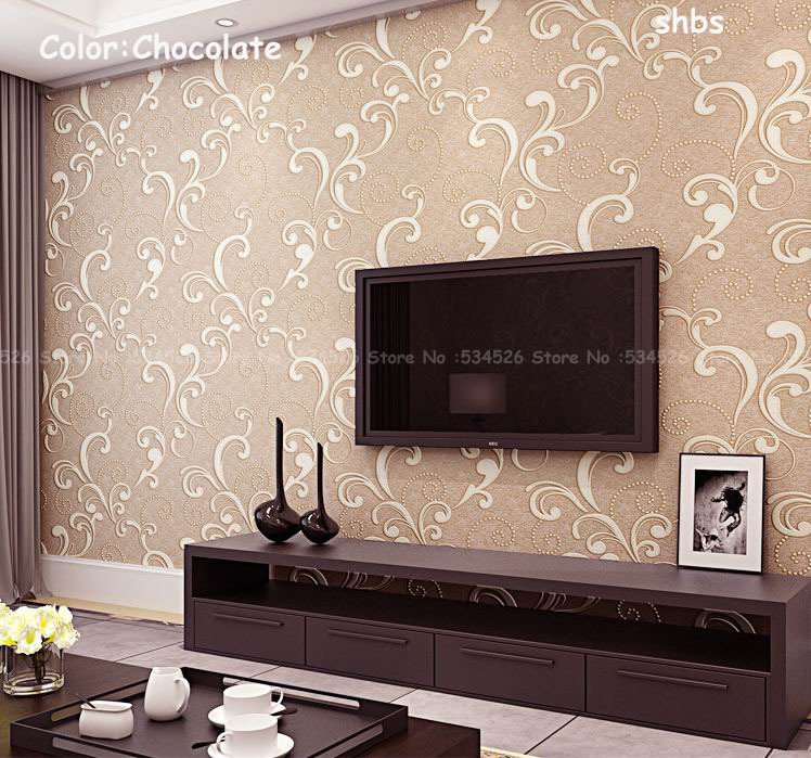 Europe Papel De Parede 3d Wall Panels Pvc Wall Paper For