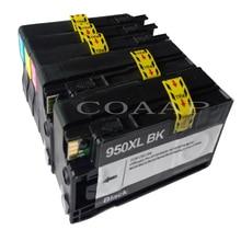 5 COMPATIBLE HP950XL 951XL INK CARTRIDGES CN045AE CN046AE CN047AE CN048AE SET