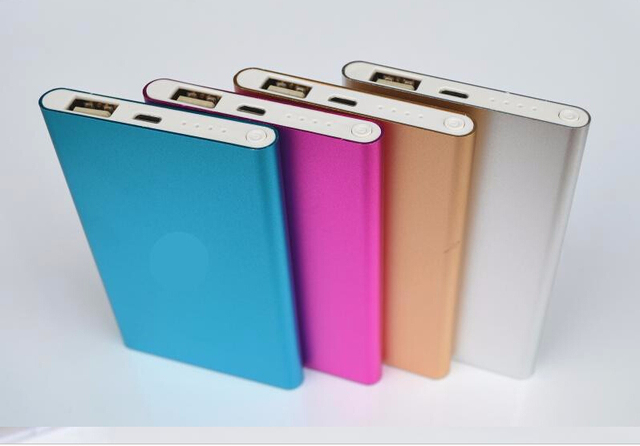 Super Slim polymer Power Bank 6000mah High Quality Powerbank External Battery Backup portable charger for all mobile phones