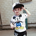 Boys Summer Mouse Cartoon T Shirt Tops Tee Children Clothing Baby Boys T-Shirts Girls T Shirt Enfant Fille