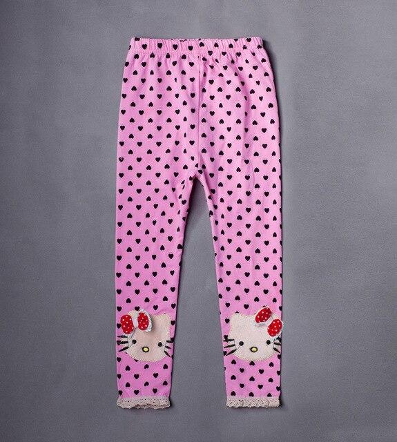 3423615da Cotton Girl Pants New Arrive Print Girls Lace Leggings Toddler Classic Baby  Girls Leggings Hello kitty Kids Leggings Trousers