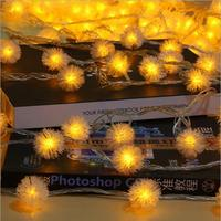 IWHD 10M Garlands Cristmas Lights LED New Year Ball Garland LED Christmas Light Decoration LED Fairy