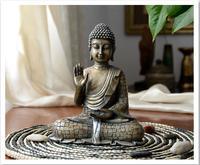 Tibetan Resin imitation bronze Buddhism Bodhisattva Sakyamuni Buddha Statue,Resin Buddha sculpture,Vintage Buddha head crafts