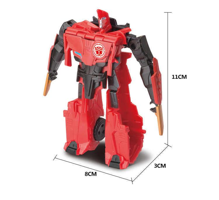 Deformação Carro Robô Transformador Figuras Anime Brinquedo figura de Ação para Crianças Quente