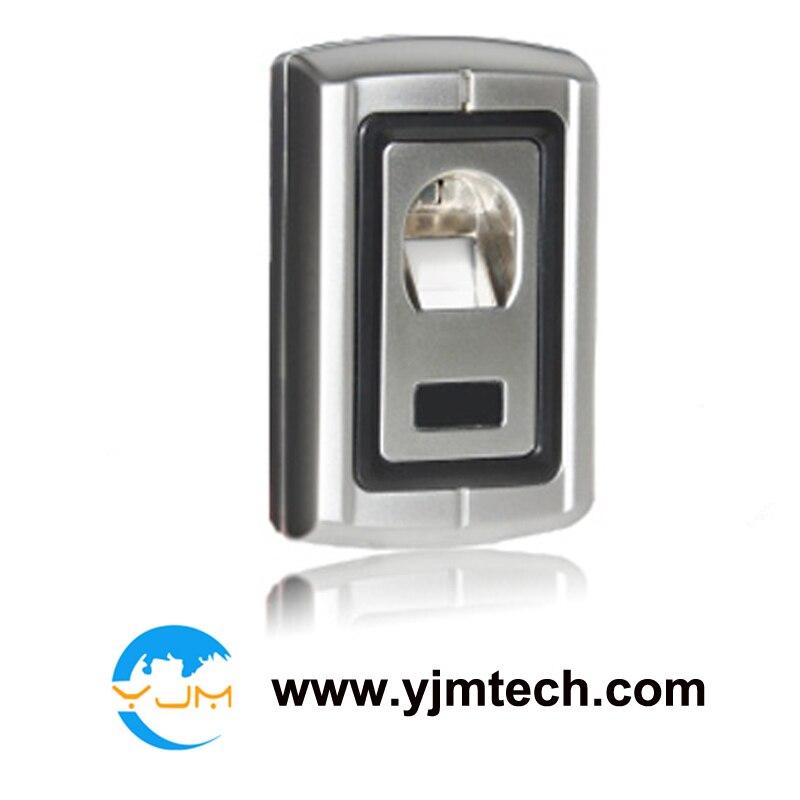 Livraison gratuite via DHL Express boîtier en métal étanche empreinte digitale + RFID serrure de porte contrôleur de contrôle d'accès + télécommande
