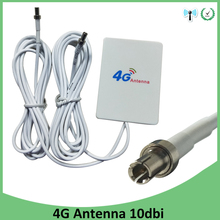 4g LTE панель с антенной TS9 разъем 3g 4G маршрутизатор Anetnna с 2 м кабель для huawei 3g 4G LTE модем-маршрутизатор Антенна