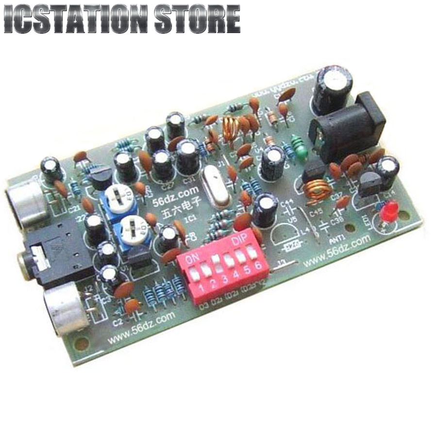Diy Digital Radio Station Pll Stereo Bh1417f Fm Frequency Modulation Modulator Circuit Schematic Transmission Board Kit In Replacement Parts Accessories From Consumer Electronics On
