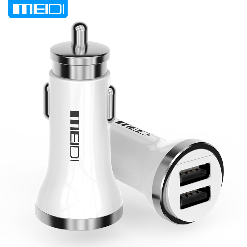 MEIDI Dual Usb Car Charger 4.8A Auto Accendisigari Universale USB Car-Charger Adatto Per iphone6 7 Sumsung Xiaomi
