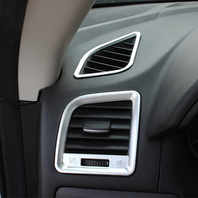 Car Styling For Mazda Cx 5 Cx5 Hatchback Suv 2012 2016 Abs Matte Interior Air Condition Vent Outlet Cover Trims Decoration 4pcs In Interior Mouldings