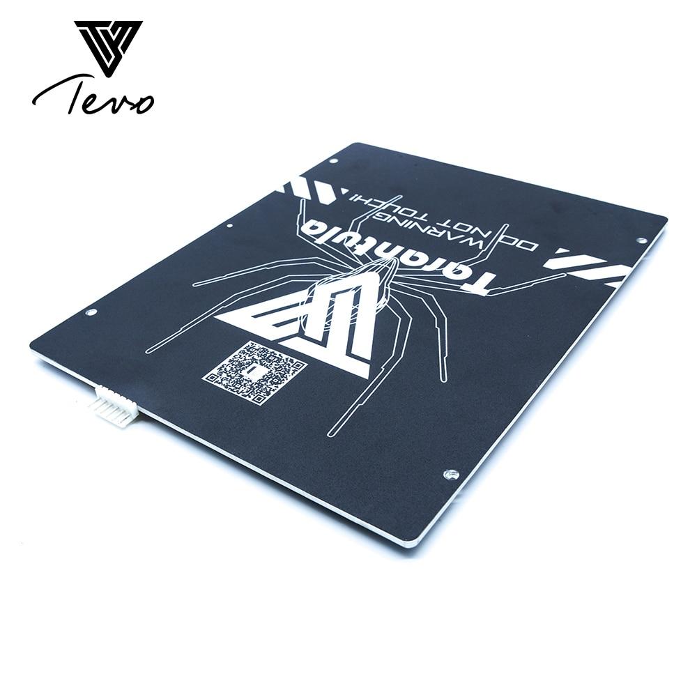 TEVO Тарантул Тепло Кровать большой встроенный области 200*280*3,5 мм черный алюминиевый Тепло Кровать 3D принт Тепло Кровать Hot Plate для 3D-принтеры ч...