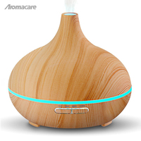 Aromacare 300ml Cool Mist Humidifier Ultrasonic Aroma Essential Oil Diffuser For Office Home Bedroom Living Room