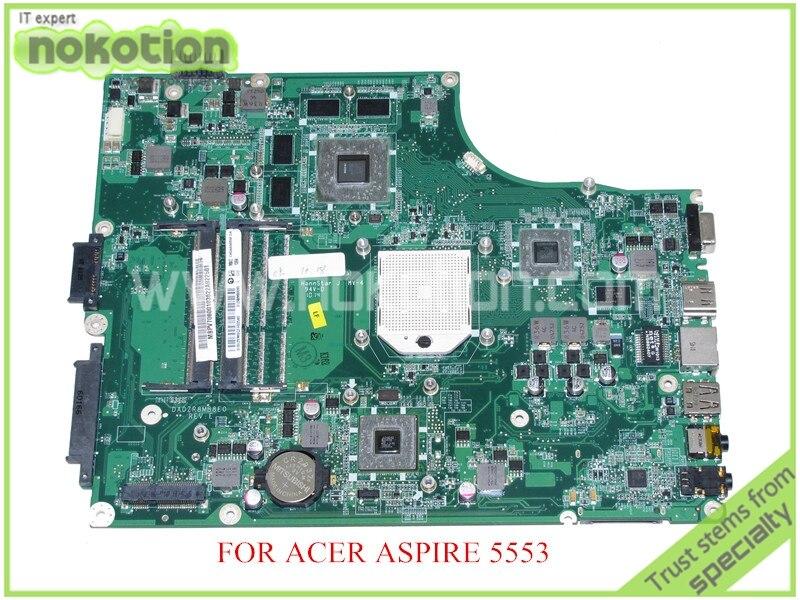 DA0ZR8MB8E0 REV E MBPV706001 MB.PV706.001 For aspire 5553 laptop motherboard ATI HD5650M DDR3 2 Memory slot