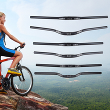 Manillar de bicicleta de carretera MTB 25,4/31,8*600/630/700mm de aleación de aluminio en forma de