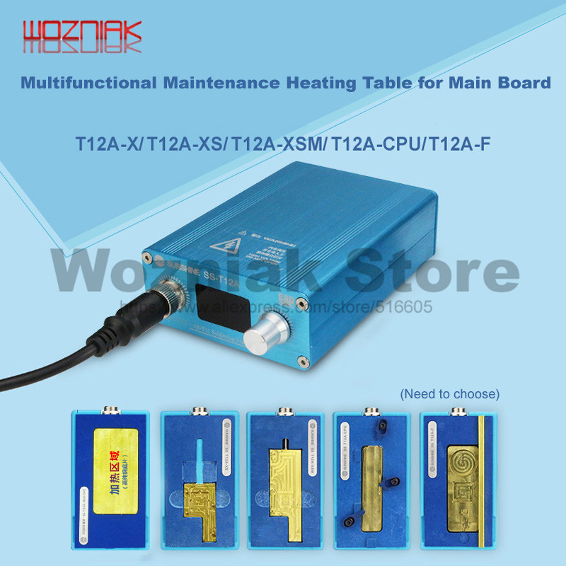 SS T12A Heating Station for IPhone 6 7 8 X XS MAX Motherboard CPU Station