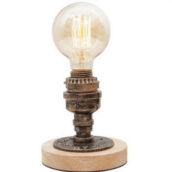LOFT American antique industrial wind Bar Cafe personalized creative plumbing bedroom bedside adjustable light LU8141350