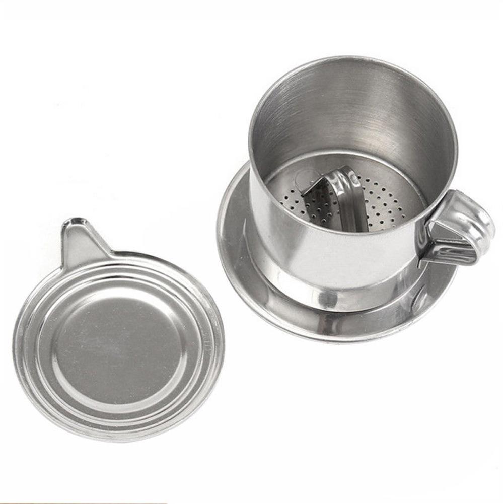 Портативный из нержавеющей стали пресс типа кофе капельница многоразовые кофе капельного ГОРШОК кофейная чашка