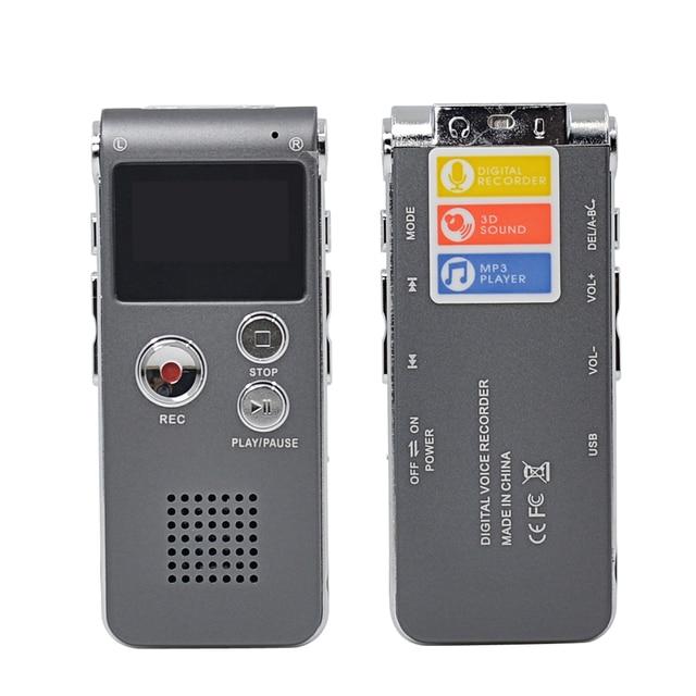CHIPAL Professional 8GB Digital Voice Recorder Multifunctional Mini Audio Recording Pen Flash Drive Disk Pen MP3 USB Dictaphone