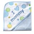 Toalha de letra bonito do bebê com capuz de Banho Banheira Impresso bebê toalha toalha de banho do bebê de alta qualidade toalha Bath & Shower Produto