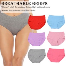 Menstrual Panties Physiological Pants Leak Proof Women Underwear Period Cotton Breathable Briefs High Waist Seamless